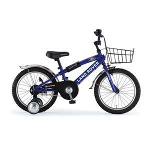 LAND ROVER(ランドローバー) 子供用自転車 KID'S18 18インチ ブルー(簡易工具セット付き) 【マウンテンバイク】