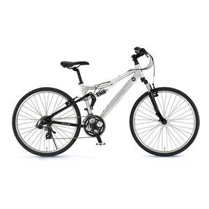 FAIRLADY Z(フェアレディ Z) 自転車 AL-ATB261 W-sus 26インチ シルバー - 拡大画像