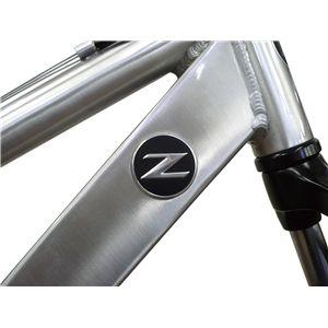 FAIRLADY Z 自転車 AL-ATB261 W-sus シルバー(簡易工具セット付き)
