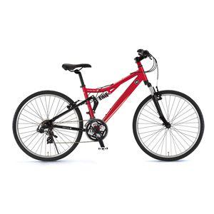 FAIRLADY Z(フェアレディ Z) 自転車 AL-ATB261 W-sus 26インチ レッド