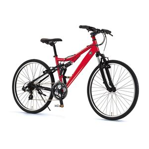 FAIRLADY Z 自転車 AL-ATB261 W-sus レッド(簡易工具セット付き)