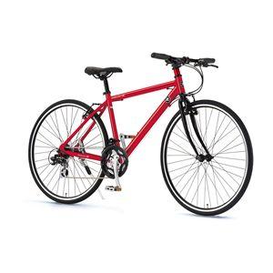 FAIRLADY Z クロスバイク AL-CRB7021 レッド(簡易工具セット付き)