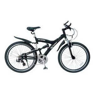MYPALLAS(マイパラス) 自転車 S-サイクル 26インチ 21段変速 M-960BK マットブラック 【マウンテンバイク】