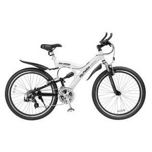 MYPALLAS(マイパラス) 自転車 S-サイクル 26インチ 21段変速 M-960W ホワイト 【マウンテンバイク】 - 拡大画像