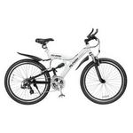 MYPALLAS(マイパラス) 自転車 S-サイクル 26インチ 21段変速 M-960W ホワイト 【マウンテンバイク】