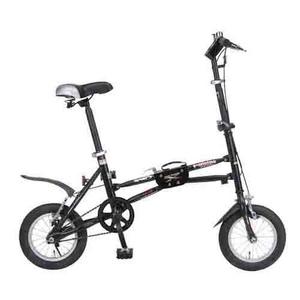 MYPALLAS(マイパラス) 折り畳み自転車 i-minimo IM-232 12インチ ブラック - 拡大画像