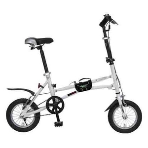 MYPALLAS(マイパラス) 折り畳み自転車 i-minimo IM-232 12インチ ホワイト - 拡大画像