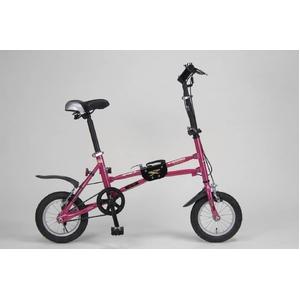 MYPALLAS(マイパラス) 折り畳み自転車 i-minimo IM-232 12インチ ピンク - 拡大画像