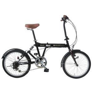 【送料無料】 MYPALLAS(マイパラス) 折畳自転車 SC-07GR グリーン 20インチ 6段変速 リアサス