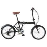 MYPALLAS(マイパラス) 折りたたみ自転車 SC-07GR グリーン 20インチ 6段変速 リアサス