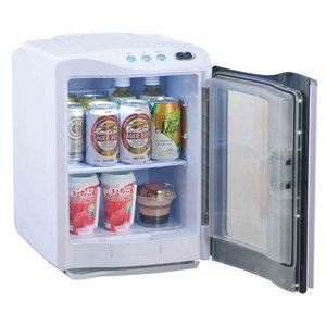 RAMASU(ラマス) ポータブル冷温庫 20Lタイプ RA-H20 ホワイト 【保冷庫・保温庫・温冷庫】 - 拡大画像