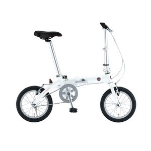 【送料無料】 FIAT(フィアット) 折畳自転車 AL-FDB140 14インチ ホワイト