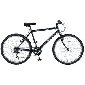 MYPALLAS(マイパラス) 自転車 26インチ 6段ギア M-610S ブラック (マウンテンバイク) - 拡大画像