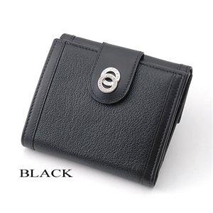 BVLGARI(ブルガリ) ドッピオトンド二折財布 26203/BLACK