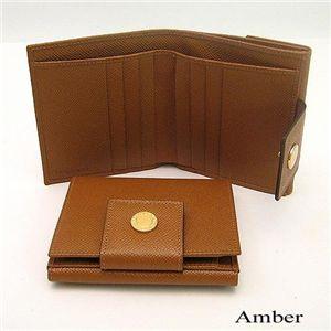 BVLGARI(ブルガリ) Wホック財布 20080/Amber - 拡大画像