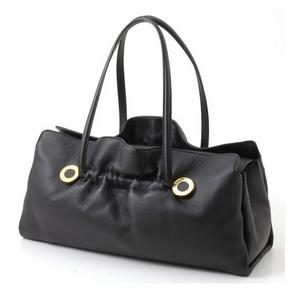 BVLGARI(ブルガリ)# 23850 Twist bag Original shape Extreme deer black/G. - 拡大画像