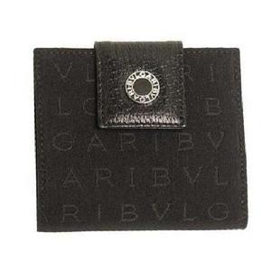 BVLGARI(ブルガリ) ミニ財布 22250 レッタレ ブラック - 拡大画像