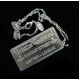 Vivienne Westwood(ヴィヴィアン ウエストウッド) Plaque Pendant(プラークペンダント)#166471001 写真1