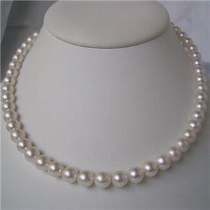 和珠本真珠 7.5〜8.0mm パールネックレス