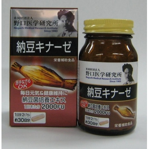 納豆キナーゼ - 拡大画像