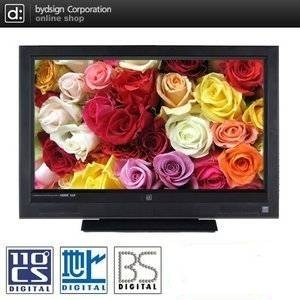 バイデザイン 32型フルハイビジョン液晶テレビ ALF-3207DB BS・110度CS・地デジ搭載 - 拡大画像