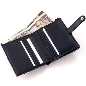 Christian Dior(クリスチャンディオール) Wホック財布 LDC43025 ブラックの写真2