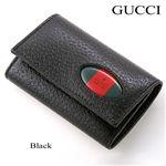 GUCCI(グッチ)  キーケース 154295 ブラック【送料無料】