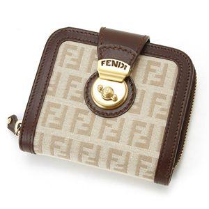 FENDI(フェンディ) 財布 8M0118 LJA RP4・ベージュ×ブラウン