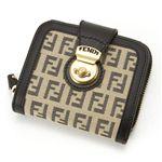 FENDI(フェンディ) 財布 8M0118 LJA VU0・ベージュ×グレー