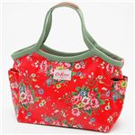 Cath Kidston(���㥹���åɥ���) �Х��åȥХå� BAKET BAG 254069��Folk Flowers Red