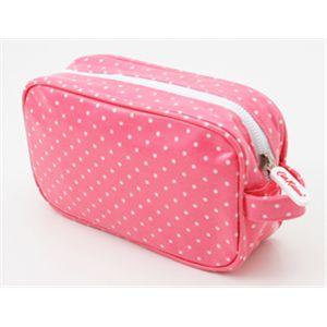 Cath Kidston (キャスキッドソン) Cosmetic Bag 220835・ミニドットピンクの写真1