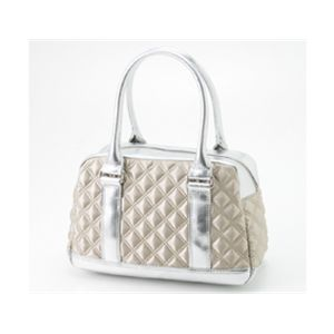 Marc by MarcJacobs(マークバイマークジェイコブス)ボーリングバッグ【サテンキルティング】50339 Silver