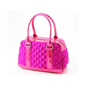 Marc by MarcJacobs(マークバイマークジェイコブス) サテンバッグ ボーリングバッグ50342/Fuschia