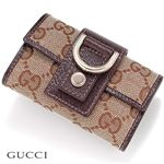 GUCCI(グッチ) キーケース 141419 9643・Cacao