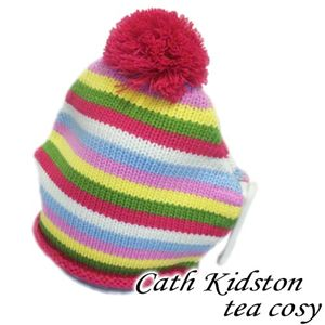 Cath kidston(キャスキッドソン) tea cosy knitted stripe