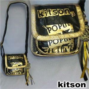 kitson(キットソン) PAMELA SHOULDER BAG Black/Gold