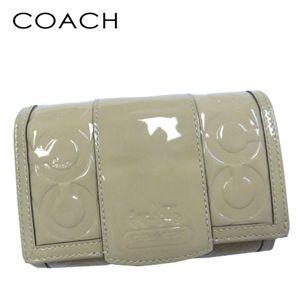 COACH(コーチ) L字ファスナー財布 42425 SV/P7