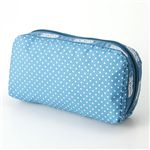 LeSportsac(レスポートサック) ポーチ RECTANGULAR COSMETIC 3040 Marine Pin Dot