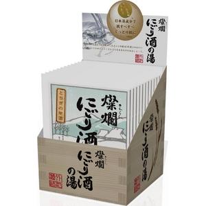 入浴剤 燦爛にごり酒の湯 12包BOXセット