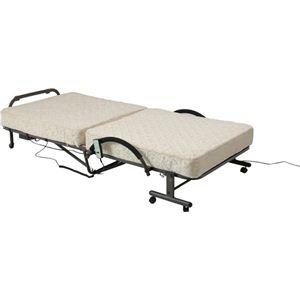 折りたたみ電動ベッド FU05-7 アイボリー - 拡大画像