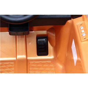 乗用ラジコンカー 【ボルボ C30 OR(オレンジ)】 音/ライト付き MP3プレーヤー接続可 (乗用玩具/おもちゃ)【組立品】