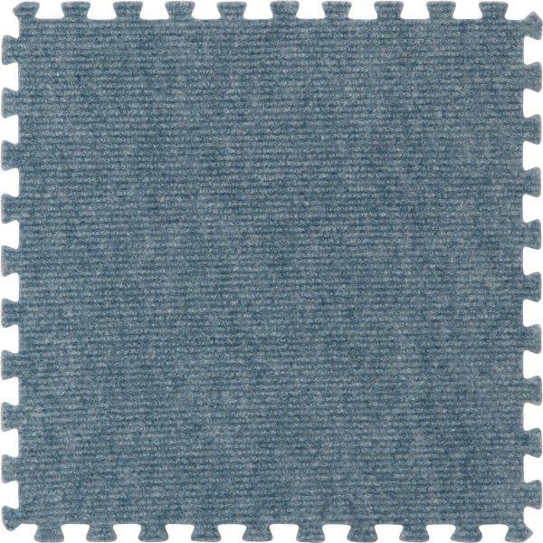 ジョイントマット カーペット 30cm組 9枚組 ブルー