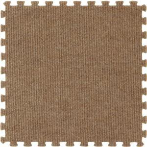 ジョイントマット カーペット 30cm組 9枚組 ブラウン