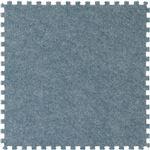 ジョイントマット カーペット 45cm組 4枚組 ブルー