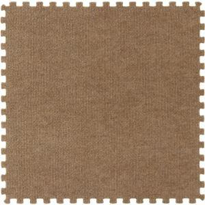 ジョイントマット カーペット 45cm組 4枚組 ブラウン
