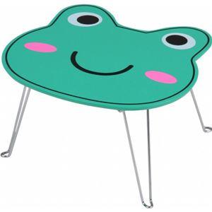 アニマルミニテーブル(サイドテーブル) 【カエル柄】 幅34cm×奥行30cm×高さ19.5cm