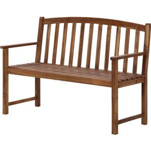 木製ベンチ - 拡大画像