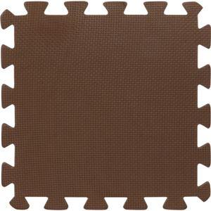 ジョイントマット 30cm9枚組 ブラウン - 拡大画像