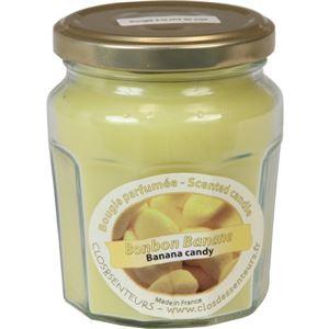 ジャム瓶キャンドルM バナナ
