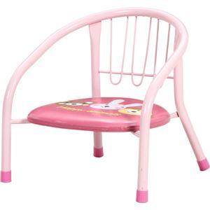 ベビーローチェアー ピンク